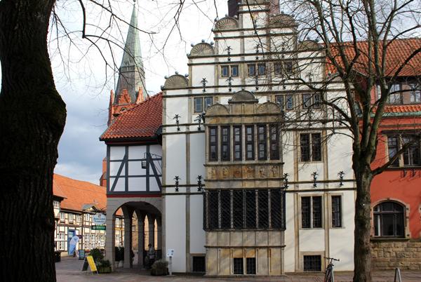 Rathausgiebel Nienburg