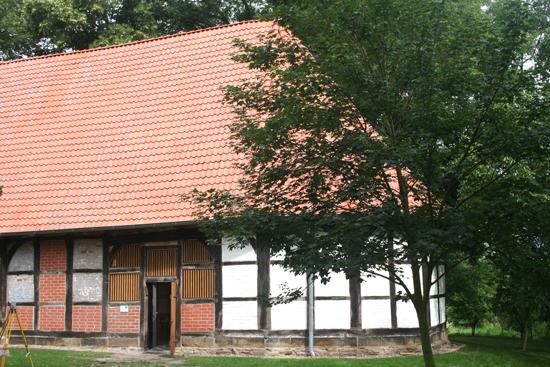 Fachwerkkirche des Klosters Schinna