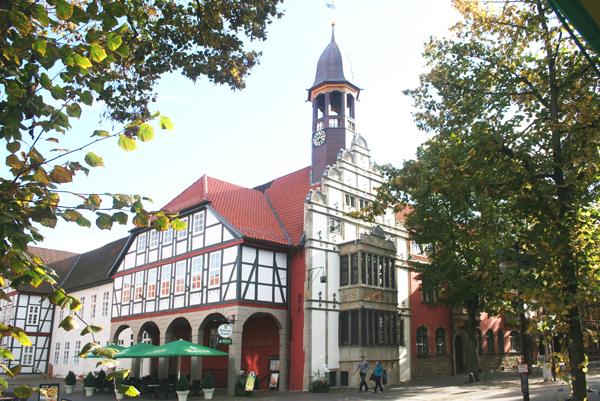 Historisches Rathaus in Nienburg