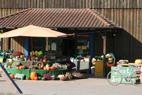 Frisches Obst und Gemüse direkt vom Hofladen