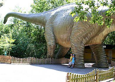 Besuch im Dino-Park Münchehagen