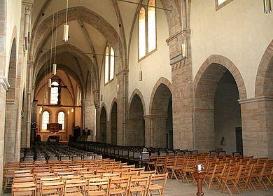 Blick in Kirche des Klosters Loccum