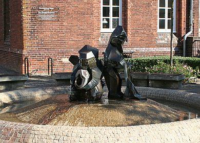 Zwergenbrunnen in Hoya