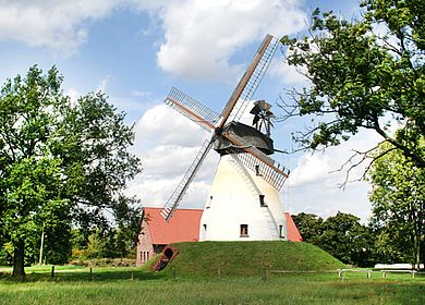 Windmühle in Petershagen-Heimsen