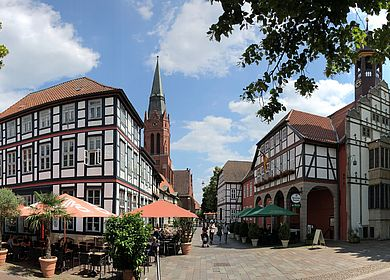 Marktplatz Nienburg
