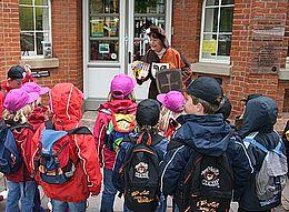 Kinderstadtführung in Nienburg