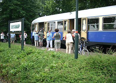 Schienenbus Kaffkieker in Eystrup