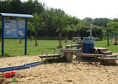 Spielplatz im Wassarium Drakenburg