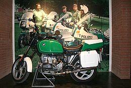 Polizeimotorrad im Polizeimuseum