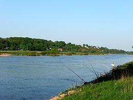 Angeln an der Weser